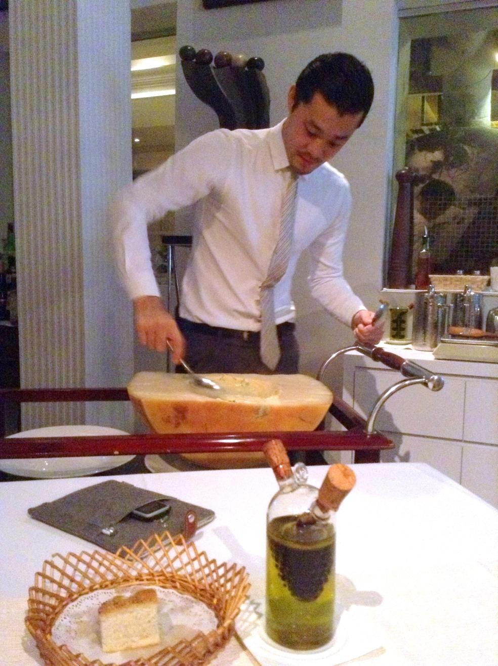 parmesan scraper
